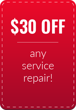 $30 Off Any Service Repair