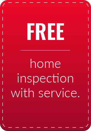Free Home Inspection with Service